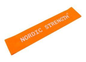 Træningselastik fra Nordic Strength – Ekstra let & Orange